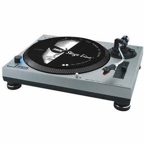Stageline Turntable DJp102/Si