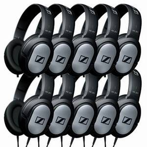 Sennheiser HD201 10-Pack Headphones
