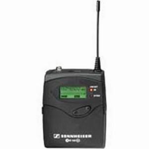 Sennheiser EK100 G3 Portable Diversity Receiver CH38