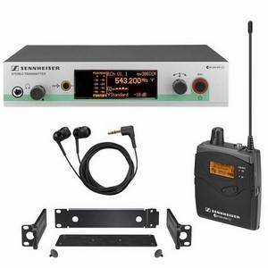 Sennheiser EW300 IEM G3 In Ear Monitoring System CH38