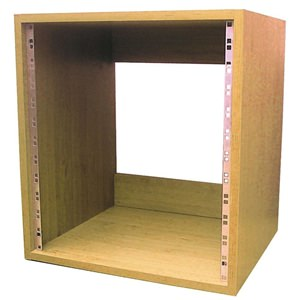 "Rack Cabinet 19"" 4U Beech Finish"