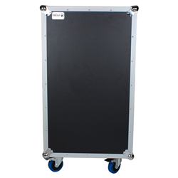 Trojan MC16U - 16U Wheeled Flight Case