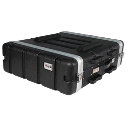 Trojan Black MkII 3U ABS Rack Case