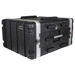 Trojan Black MkII 6U ABS Rack Case