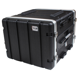 Trojan ABS Rack Flight Case 8U