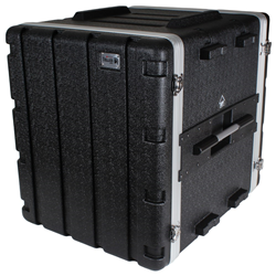 Trojan Black MkII 12U ABS Rack Case