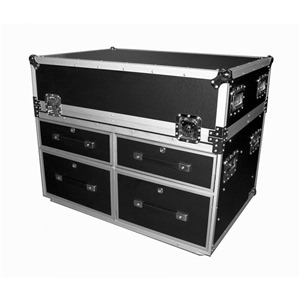 Trojan X32 Wheeled 4-Drawer Case