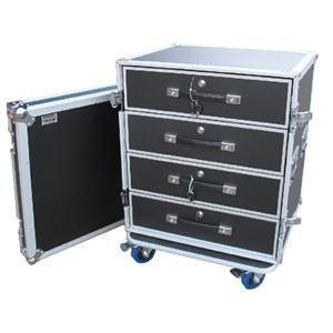 Trojan 1X 4-Drawer Flightcase