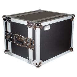 Trojan RC8U-S - 8U Shallow Rack Flight Case