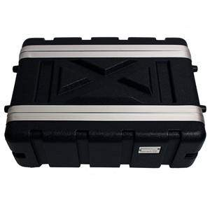 Trojan Half Depth Shallow ABS Rack Case 3U