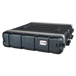 Trojan Carbon Rack Case 2U 600mm