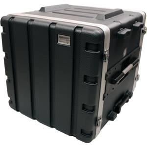 Trojan Carbon Wheeled Rack Case 8U+2U