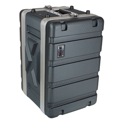 Trojan Carbon Rack Case 6U Shallow