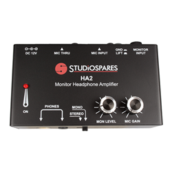 Studiospares HA2 Monitor Headphone Amplifier