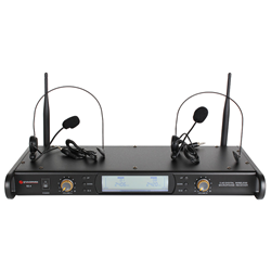 Studiospares 2.4GHz Dual Headset Wireless System S2.4/DHS