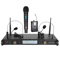 Studiospares 2.4GHz Dual Wireless System Handheld + Head SetS2.4/HH/HS