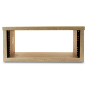 Trojan Pro Premium Studio Rack 4U 300mm Deep Noble Elm