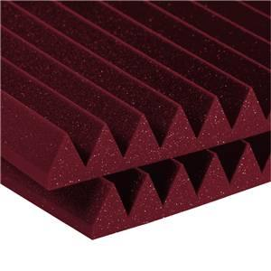 Auralex Wedge 4 x 2 Feet 2 inch Burgundy