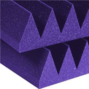 Auralex Wedge 4 x 2 Feet 4'' Purple