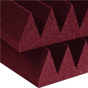 Auralex Wedge 4 x 2 Feet 4'' Burgundy