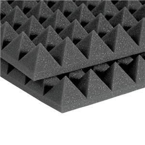 "Auralex 2"" Studiofoam Pyramids 2' x 4' Charcoal"