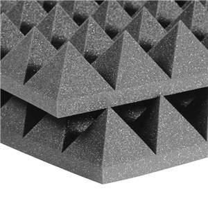 "Auralex 4"" Studiofoam Pyramids 2' x 4' Charcoal"