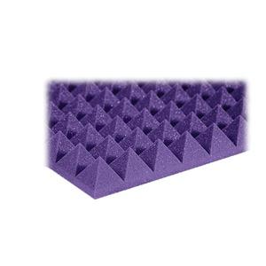 "Auralex 2"" Studiofoam Pyramids 2' x 2' Purple"