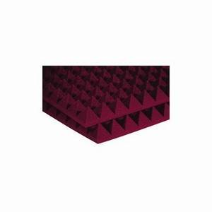 "Auralex 2"" Studiofoam Pyramids 2' x 2' Burgundy"