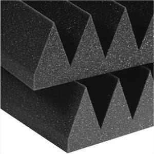 "Auralex 4"" Studiofoam Wedges 2' x 2' Charcoal"