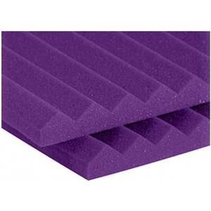 """Auralex 1"""" Studiofoam Wedge 2' x 4' Purple"""