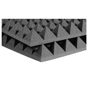 "Auralex 4"" Studiofoam Pyramids 2' x 2' Charcoal"