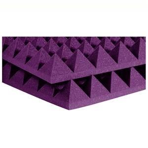 "Auralex 4"" Studiofoam Pyramids 2' x 2' Purple"