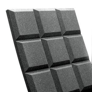 "Auralex Sonoflat Grid Charcoal 2""x2'x2' Panel x1"
