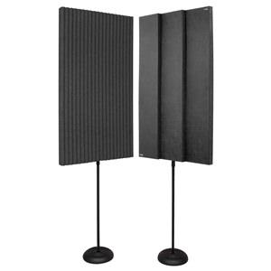 "Auralex Promax Panels Charcoal 2'x4'x3"""