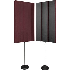 """Auralex Promax Panelsx2 Burgundy 2'x4'x3"""""""