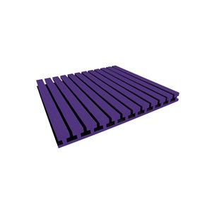 Auralex Studiofoam-T 2x4 Purple Panel single