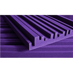 "Auralex 4"" Studiofoam Metro 2' x 4' PACK of 6 Purple"