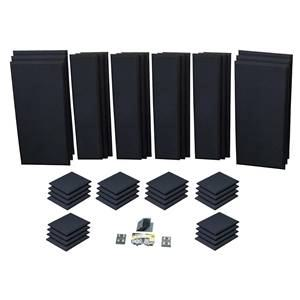 Primacoustic London 16 Black Acoustic Room Kit