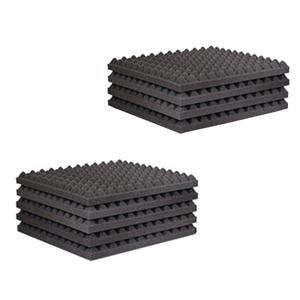 Acoustitile 55 Pro 9 Tile Absorption Kit Foam 100mm