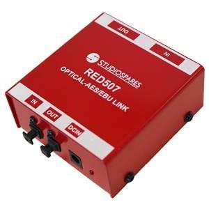 Studiospares RED507 Toslink S/PDIF – AES/EBU Converter