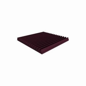 Universal Acoustics Mercury Wedge 600mm Sq. x 50mm Burgundy