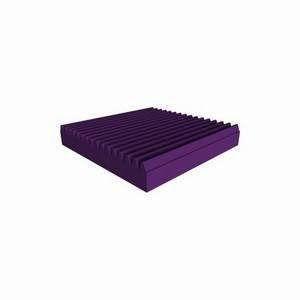 Universal Acoustics Mercury Wedge 600mm Sq. x 100mm Purple
