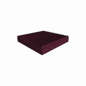 Universal Acoustics Mercury Wedge 600mm Sq. x 100mm Burgundy