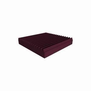 Universal Acoustics Mercury Wedge 600mm Sq. x 100mm Burgundy