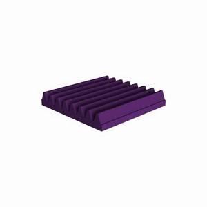 Universal Acoustics Mercury Wedge 300 x 300 x 50mm Purple