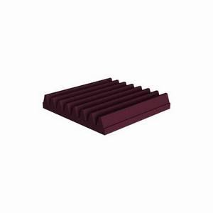 Universal Acoustics Mercury Wedge 300 x 300 x 50mm Burgundy