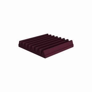 Universal Acoustics Mercury Wedge 300 x 300 x 50mm Burgundy