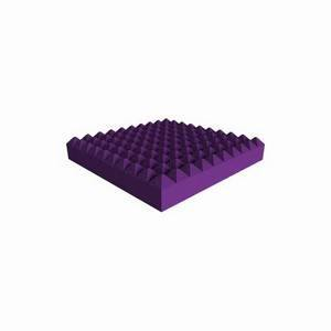 Universal Acoustics Saturn Pyramid 600mm Sq. x 100mm Purple