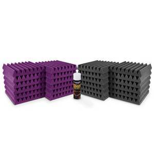 Universal Acoustics Pluto Room Kit Purple/Charcoal