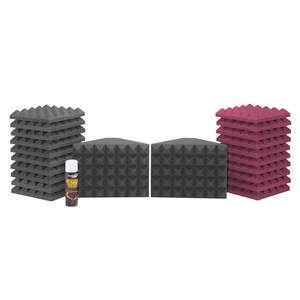 Universal Acoustics Saturn 1 Burgundy/Charcoal Room Kit